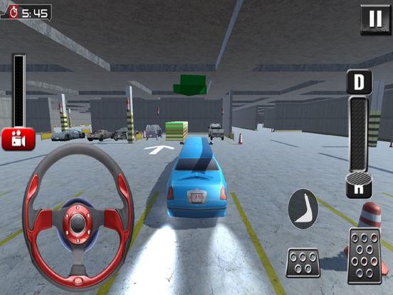 Garage Limousine Parking : 3D Free Par-King Game-s screenshot 8