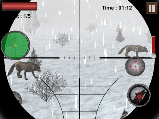 Wolf Hunter Sniper Shooter screenshot 6