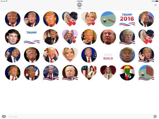 Trump Stickers for iMessage screenshot 2