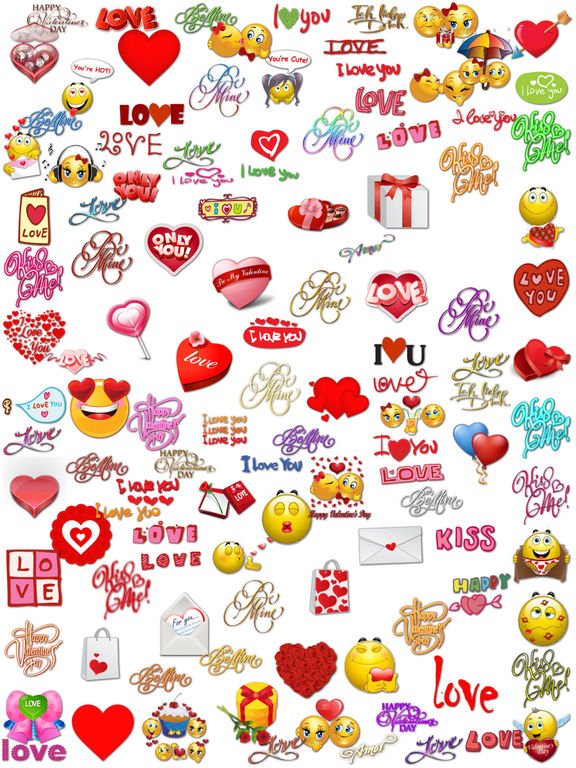 Love Stickers Chat for iMessage screenshot 6