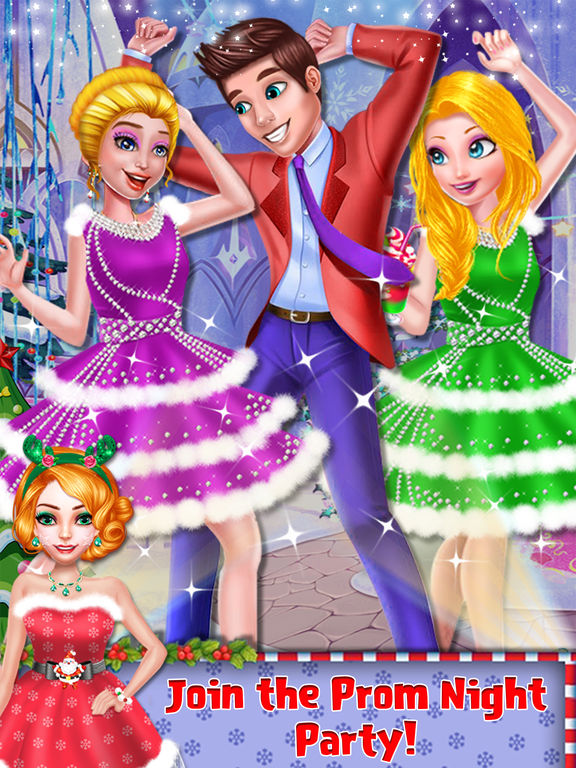Christmas Prom Girl Salon screenshot 6