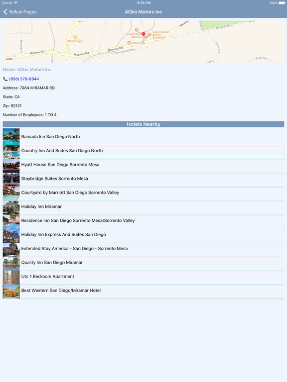 i4sandiego - San Diego Hotels & Yellow Pages screenshot 8