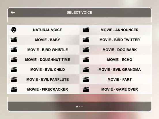 Movie Voice Booth screenshot 4