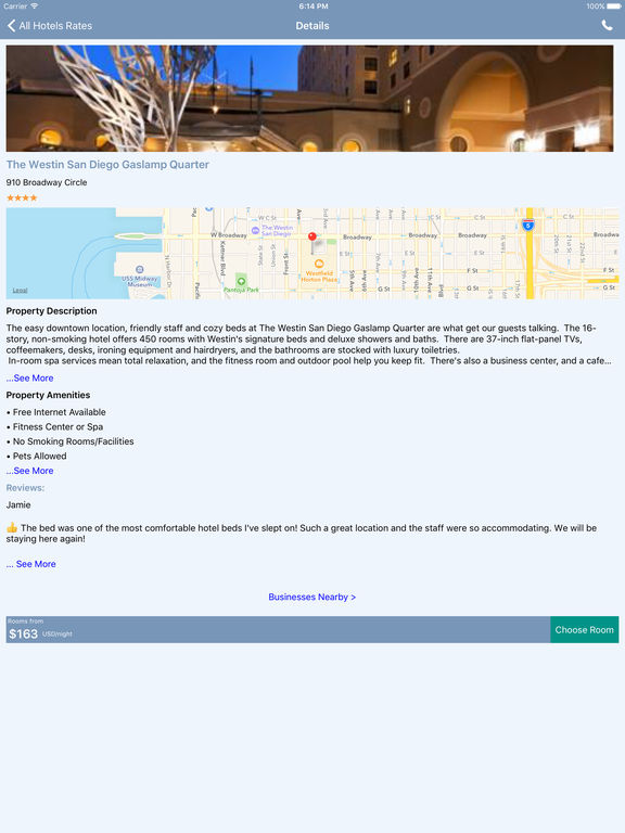 i4sandiego - San Diego Hotels & Yellow Pages screenshot 7