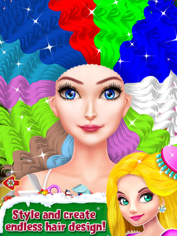 Christmas Doll Party Makeover screenshot 9