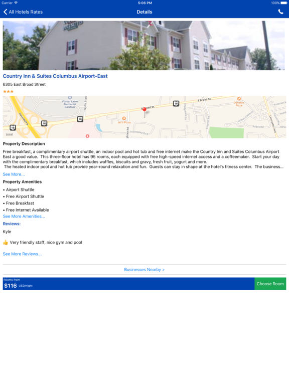 i4columbus - Columbus, OH Hotels & Yellow Pages screenshot 7