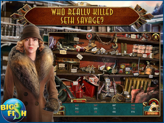 Dead Reckoning: Snowbird's Creek - Hidden Objects screenshot 7