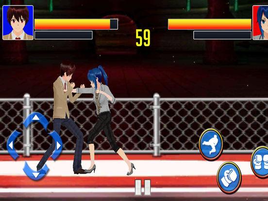 Man vs Women combo Fight screenshot 7