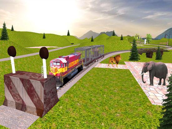 Animal Cargo Transport Train screenshot 7