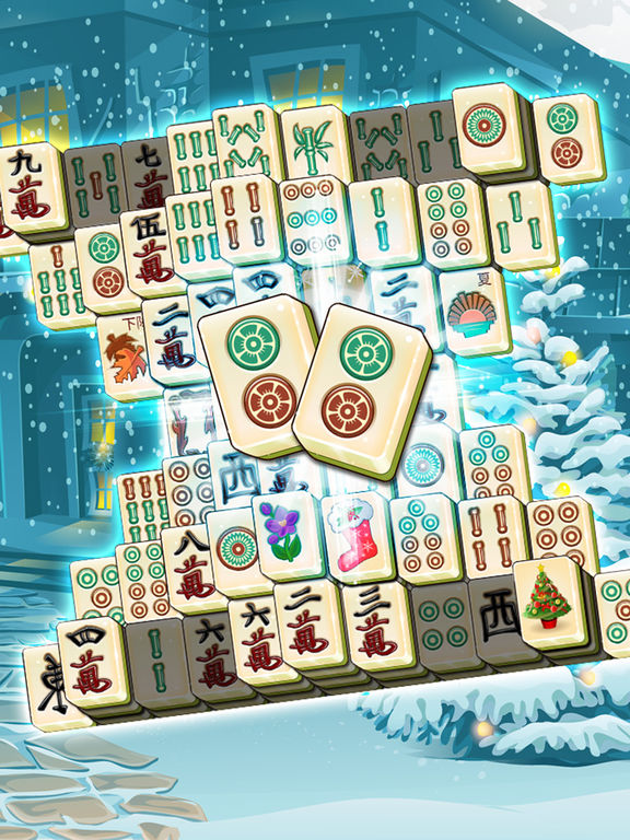 Holiday Mahjong 3D - Magic Christmas Puzzle Deluxe screenshot 8