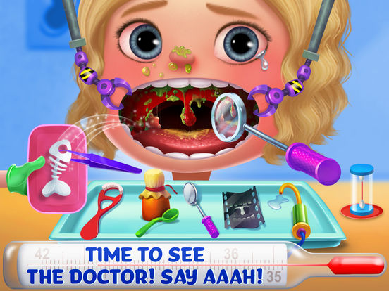 Kids Emergency Doctor - Stay in Bed screenshot 7