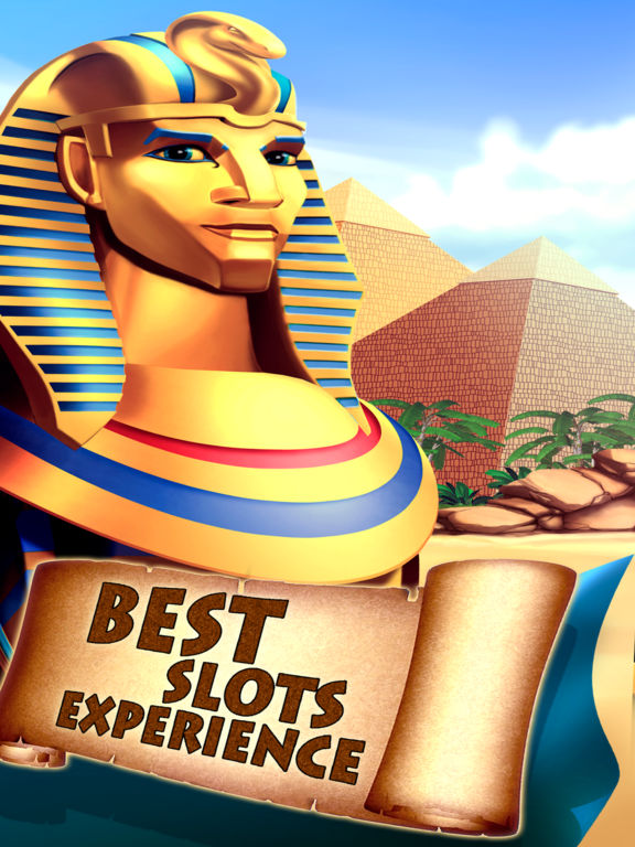 Pharaohs Slots Machine Pro Edition screenshot 4