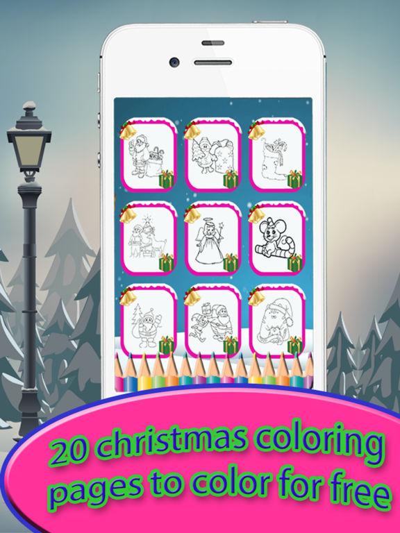 Christmas Drawing Pad - holiday activities for kid screenshot 6